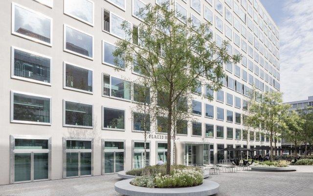 Placid Hotel Design & Lifestyle Zurich вид на фасад