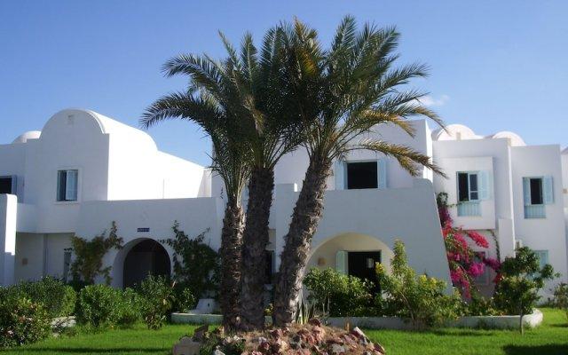 Отель Menzel Dija Appart-Hotel Тунис, Мидун - отзывы, цены и фото номеров - забронировать отель Menzel Dija Appart-Hotel онлайн вид на фасад