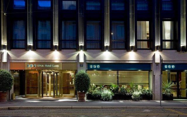 Отель UNA Hotel Cusani Италия, Милан - - забронировать отель UNA Hotel Cusani, цены и фото номеров вид на фасад