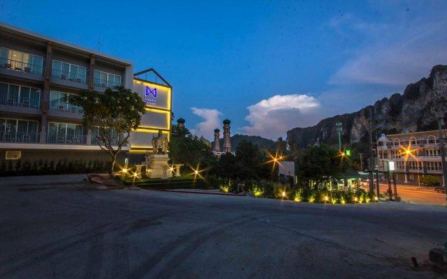 Отель Marina Express - Fisherman - Aonang вид на фасад
