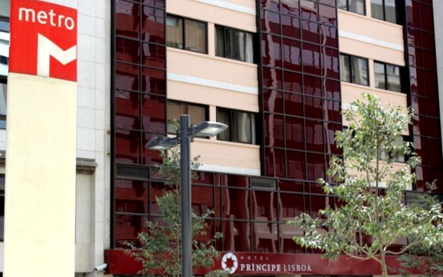 Hotel Principe Lisboa вид на фасад