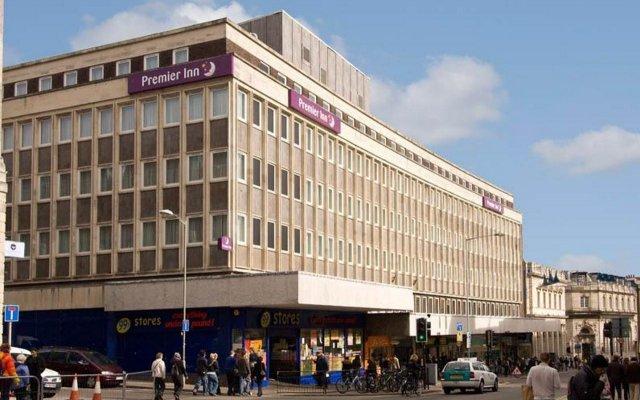 Отель Premier Inn Brighton City Centre Брайтон вид на фасад