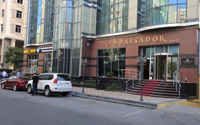 Отель Амбассадор Азербайджан, Баку - отзывы, цены и фото номеров - забронировать отель Амбассадор онлайн вид на фасад