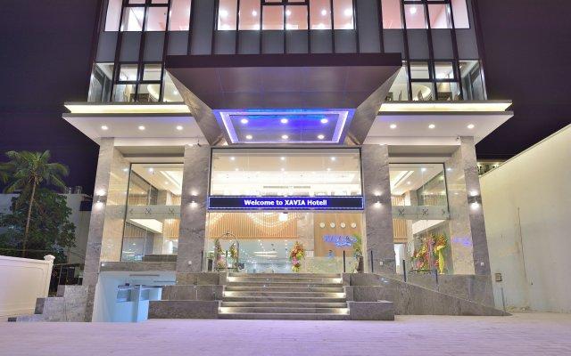 Отель Xavia Hotel Вьетнам, Нячанг - 1 отзыв об отеле, цены и фото номеров - забронировать отель Xavia Hotel онлайн вид на фасад