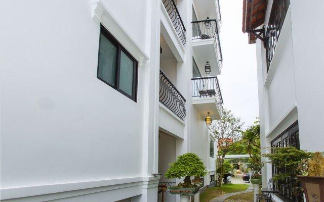 Отель Riverside Impression Homestay Villa вид на фасад
