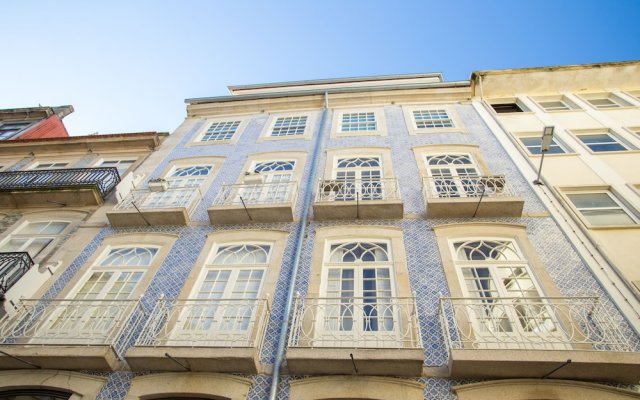 Апартаменты Almada Story Apartments by Porto City Hosts Порту вид на фасад