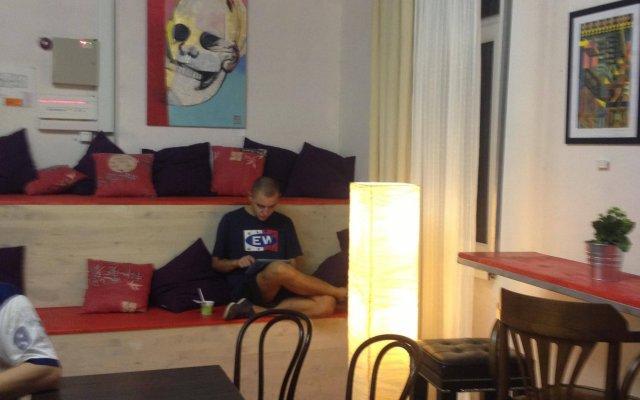 Art Space Hostel комната для гостей