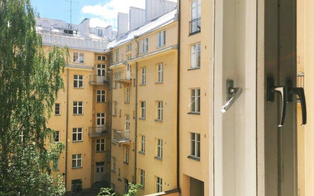 Отель Roost Rauha вид на фасад