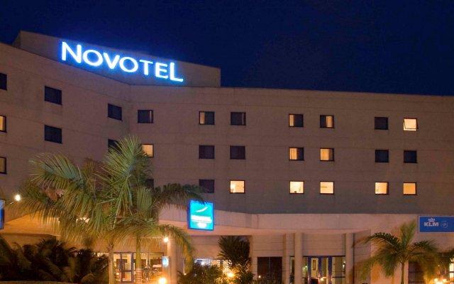 Отель Novotel Port Harcourt вид на фасад