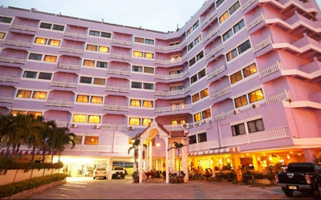 Отель Sawasdee Siam Таиланд, Паттайя - 1 отзыв об отеле, цены и фото номеров - забронировать отель Sawasdee Siam онлайн вид на фасад