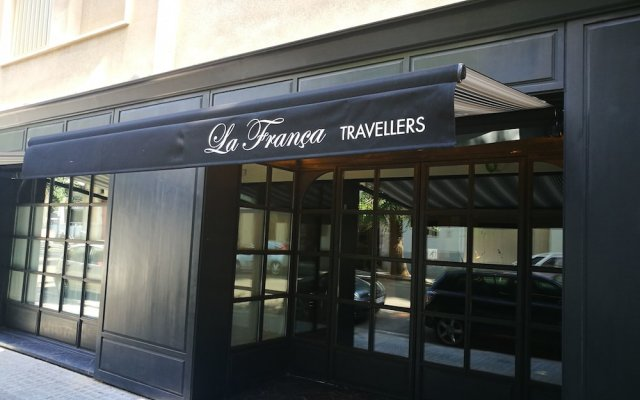 Отель La França Travellers - Adults Only вид на фасад