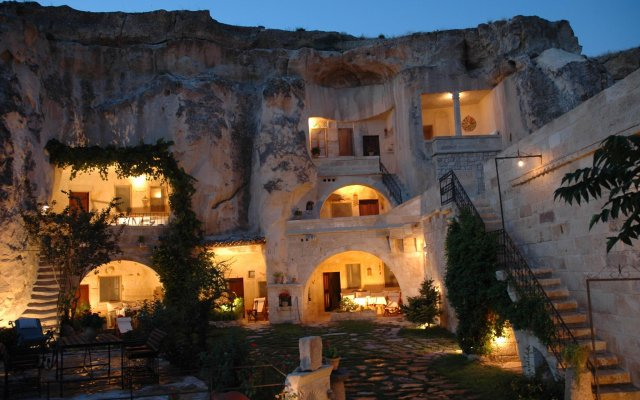 Urgup Evi Cave Hotel Ургуп вид на фасад