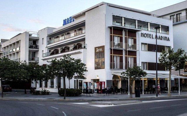 Отель Marina Испания, Курорт Росес - отзывы, цены и фото номеров - забронировать отель Marina онлайн вид на фасад
