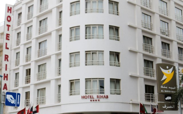 Отель Rihab Hotel Марокко, Рабат - отзывы, цены и фото номеров - забронировать отель Rihab Hotel онлайн вид на фасад