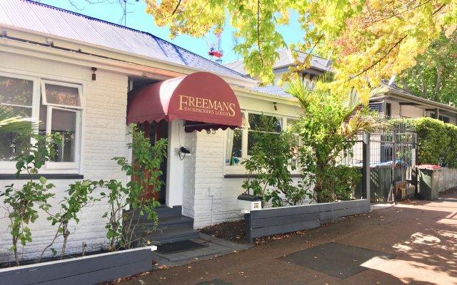 Отель Freemans Backpackers Lodge - Hostel Новая Зеландия, Окленд - отзывы, цены и фото номеров - забронировать отель Freemans Backpackers Lodge - Hostel онлайн вид на фасад