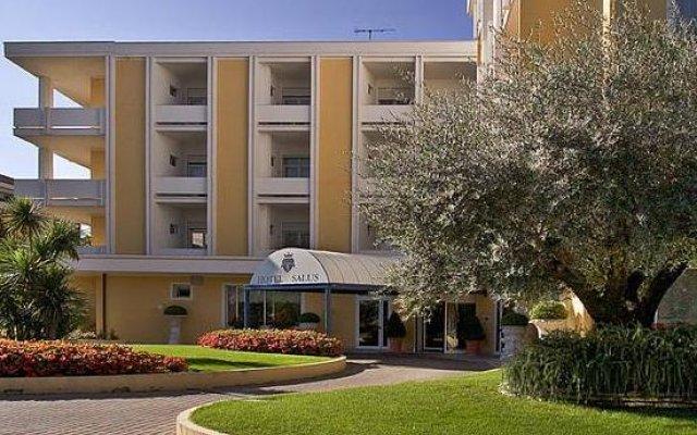 Отель Salus Terme Италия, Абано-Терме - отзывы, цены и фото номеров - забронировать отель Salus Terme онлайн вид на фасад