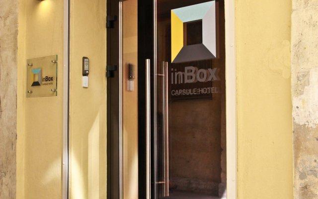 Капсульный отель inBox Санкт-Петербург вид на фасад