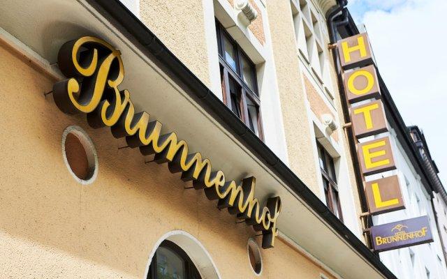 Отель Brunnenhof City Center Германия, Мюнхен - 1 отзыв об отеле, цены и фото номеров - забронировать отель Brunnenhof City Center онлайн вид на фасад