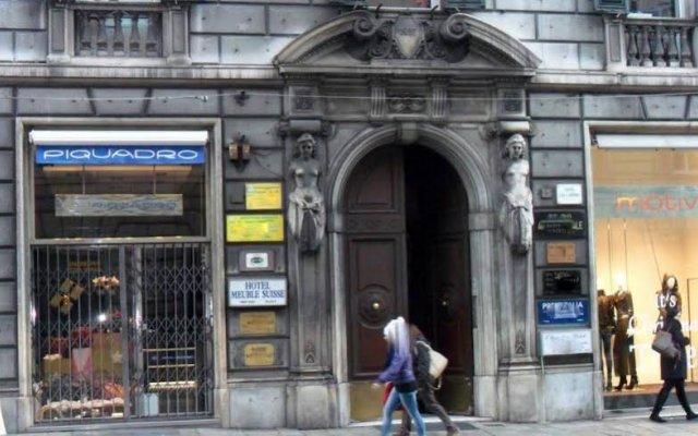 Отель Suisse Genova Италия, Генуя - 2 отзыва об отеле, цены и фото номеров - забронировать отель Suisse Genova онлайн вид на фасад