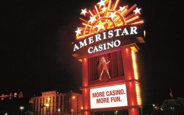 Ameristar Casino Hotel Vicksburg вид на фасад