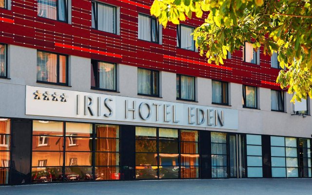Iris Hotel Eden Прага вид на фасад