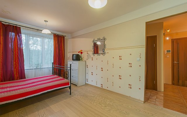 Гостиница FlatHome24 on Tovarishcheskiy 26 комната для гостей