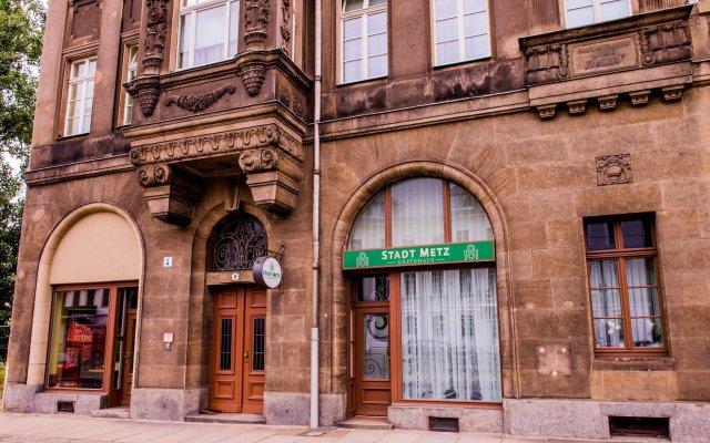 Отель Gastehaus Stadt Metz вид на фасад