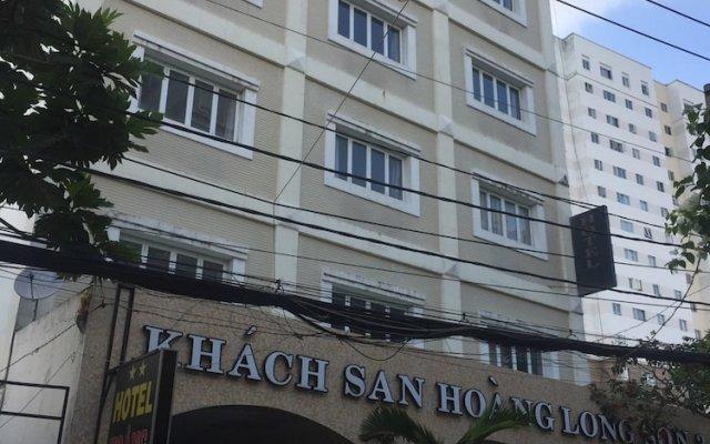 Отель Hoang Long Son 3 вид на фасад