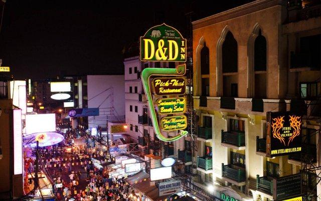Отель D&D Inn Таиланд, Бангкок - 4 отзыва об отеле, цены и фото номеров - забронировать отель D&D Inn онлайн вид на фасад