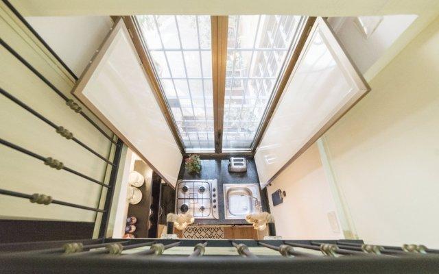 Апартаменты Monti Studio Apartment вид на фасад
