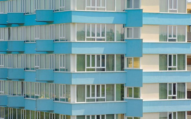 Hotel Cristallo вид на фасад