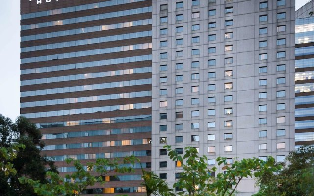 Отель Pullman São Paulo Vila Olímpia вид на фасад