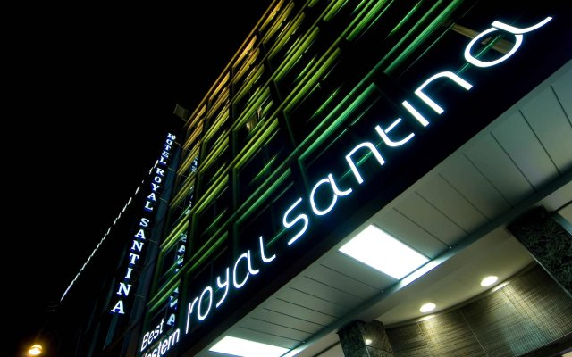 Best Western Premier Hotel Royal Santina Рим вид на фасад