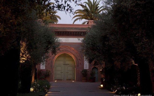 Отель Royal Mansour Marrakech Марракеш вид на фасад
