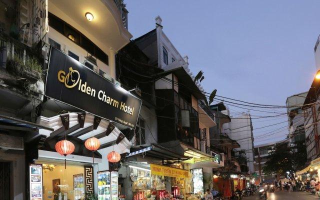 Отель Hanoi Golden Charm Hotel Вьетнам, Ханой - отзывы, цены и фото номеров - забронировать отель Hanoi Golden Charm Hotel онлайн вид на фасад