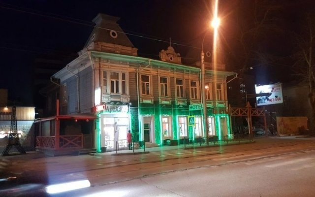 Отель АртХаус Иркутск вид на фасад