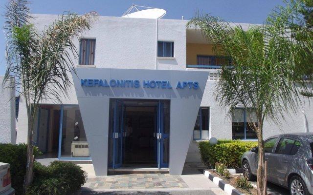 Отель Kefalonitis Hotel Apartments Кипр, Пафос - отзывы, цены и фото номеров - забронировать отель Kefalonitis Hotel Apartments онлайн вид на фасад