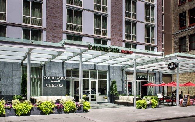 Отель Courtyard by Marriott New York Manhattan / Chelsea США, Нью-Йорк - отзывы, цены и фото номеров - забронировать отель Courtyard by Marriott New York Manhattan / Chelsea онлайн вид на фасад