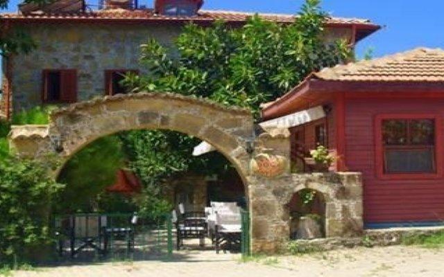 Отель Side Doga Pansiyon Сиде вид на фасад