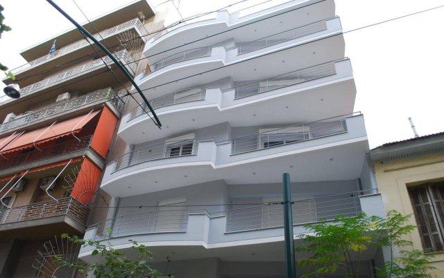 Апартаменты Athens Lotus Apartments вид на фасад