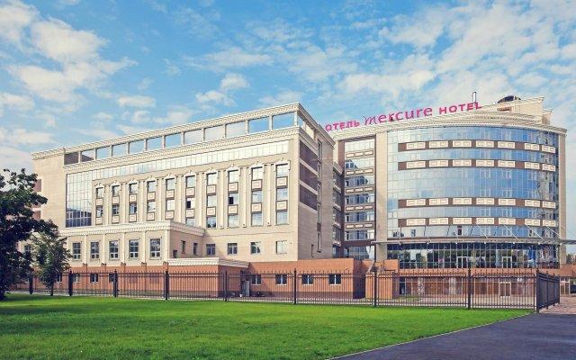 Гостиница Mercure Lipetsk Center в Липецке 9 отзывов об отеле, цены и фото номеров - забронировать гостиницу Mercure Lipetsk Center онлайн Липецк вид на фасад