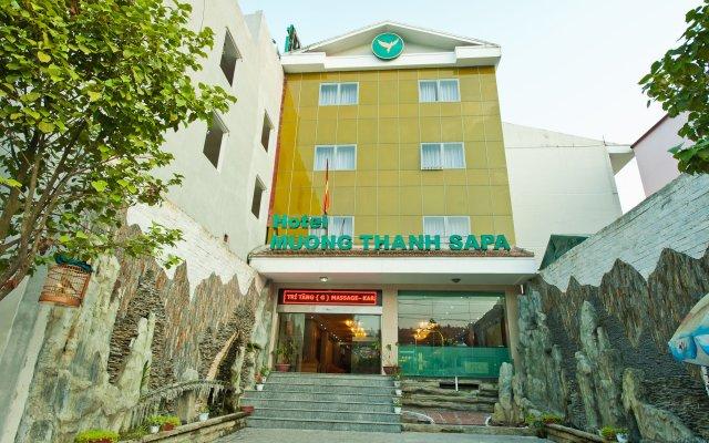 Muong Thanh Sapa Hotel вид на фасад