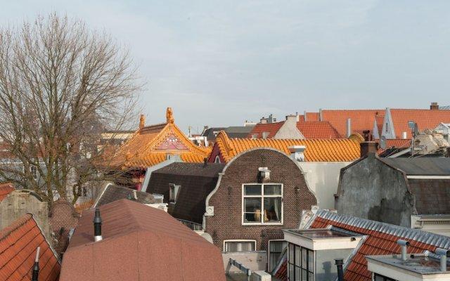 Отель Monnikenstraat Apartments Нидерланды, Амстердам - отзывы, цены и фото номеров - забронировать отель Monnikenstraat Apartments онлайн балкон