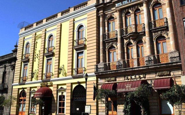 Отель Santiago De Compostela Мексика, Гвадалахара - 1 отзыв об отеле, цены и фото номеров - забронировать отель Santiago De Compostela онлайн вид на фасад