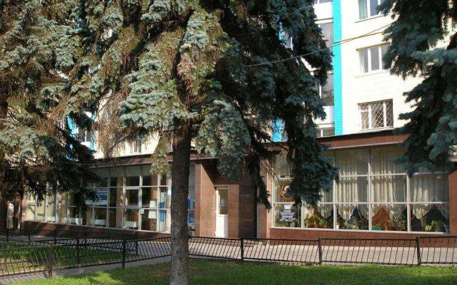Гостиница Голосеевский вид на фасад