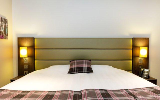 Отель Premier Inn Dubai Al Jaddaf комната для гостей