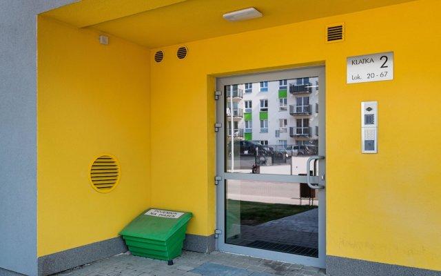Отель Warszawa-Wlochy Brilliant Apartment Польша, Варшава - отзывы, цены и фото номеров - забронировать отель Warszawa-Wlochy Brilliant Apartment онлайн вид на фасад