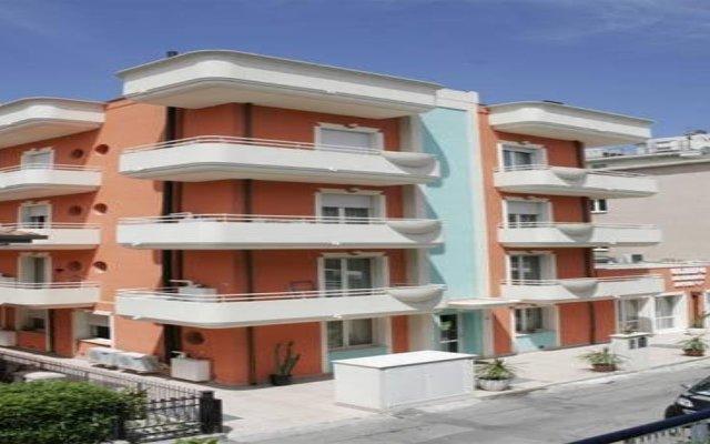 Отель Residence Olimpo Италия, Римини - отзывы, цены и фото номеров - забронировать отель Residence Olimpo онлайн вид на фасад