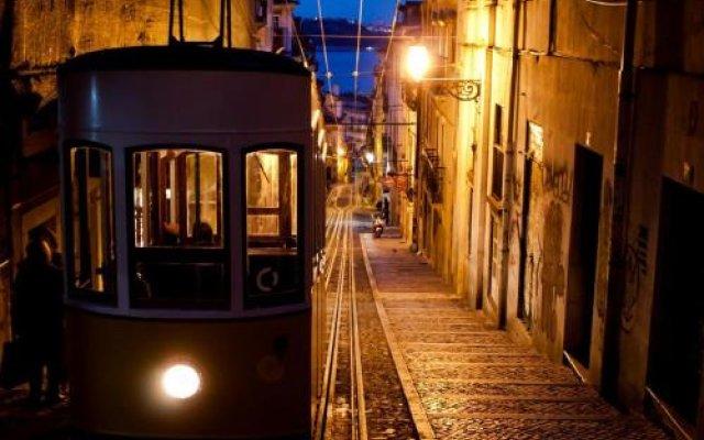 Отель Lisbon Calling Лиссабон вид на фасад