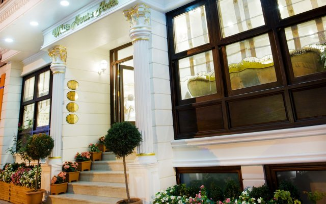 Отель White House Istanbul вид на фасад